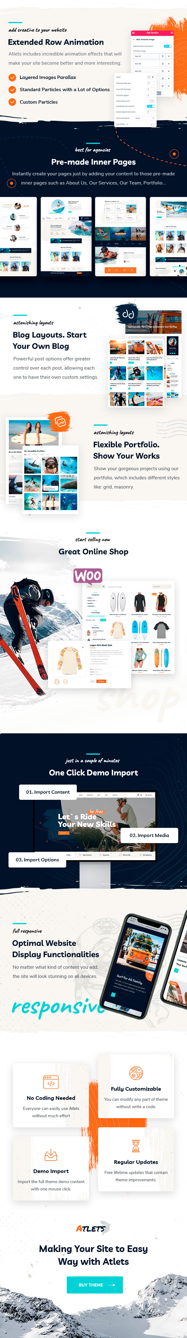 Atlets - Extreme and Outdoors WordPress Theme - 2